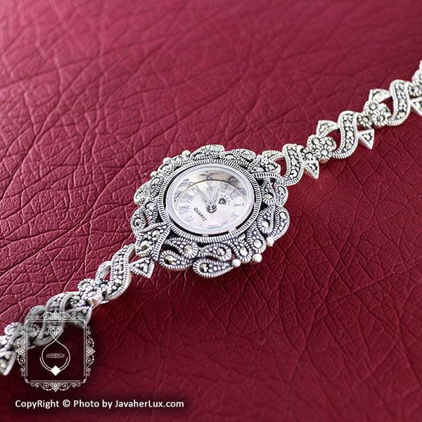 ساعت نقره زنانه طرح مارکازیت مدل ملیسا _ کد : 100031
