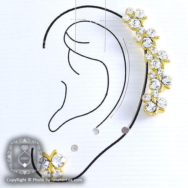 گل گوش زنانه مدل آوا _ کد : ۲۰۰۰۳۸