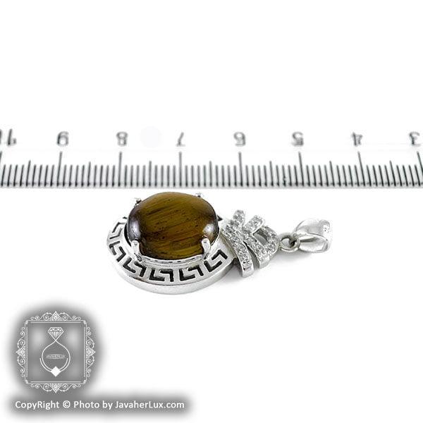 گردنبند نقره زنانه تایگر مدل سوژین _ کد : 100098