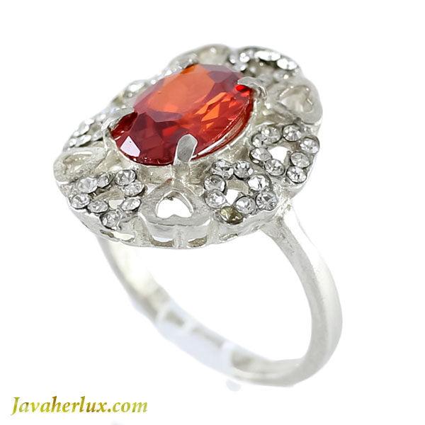 انگشتر نقره زنانه سنتاتیک مدل رامیلا _ کد : 100102
