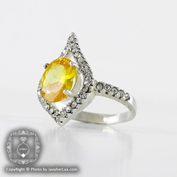 انگشتر نقره زنانه سنتاتیک مدل تانیا _ کد : 100105