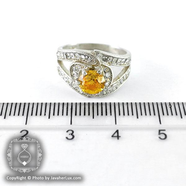 انگشتر نقره زنانه سنتاتیک مدل آریستا _ کد : 100107