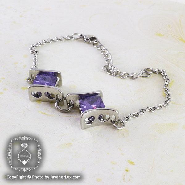 دستبند زنانه مدل افروز _ کد : 200051