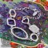 دستبند زنانه مدل ساینا _ کد : 200052