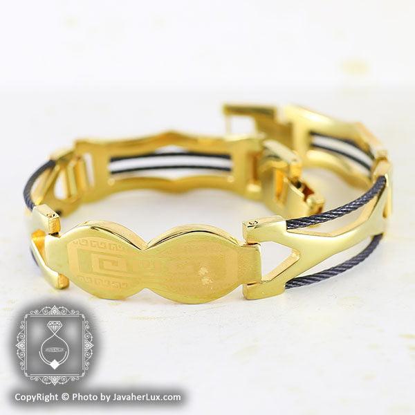 دستبند مردانه مدل باربد _ کد : 200053