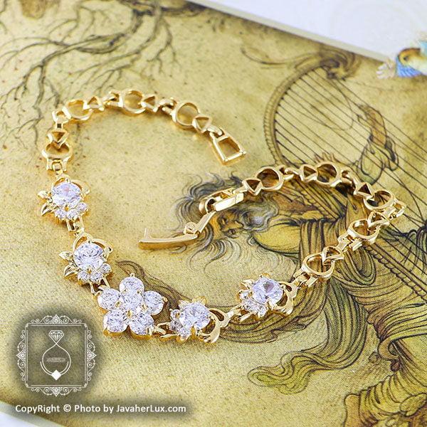 دستبند زنانه مدل شاهیده _ کد : 200056