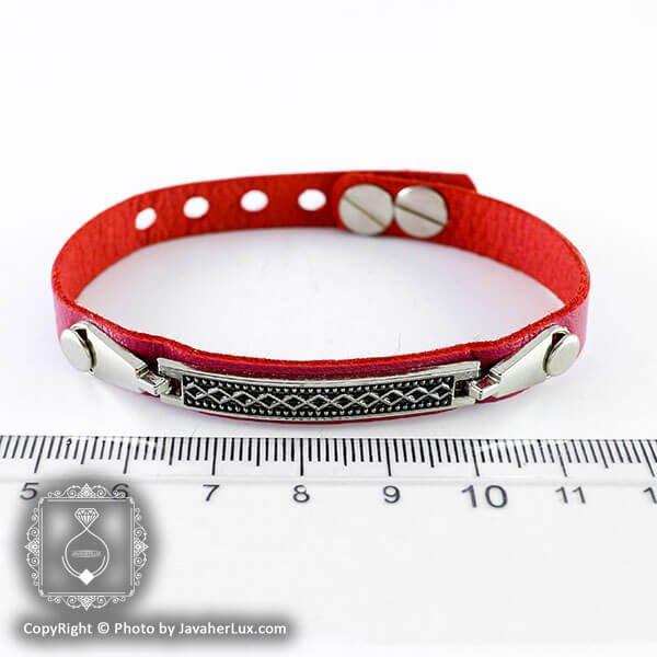دستبند چرم مدل کارا _ کد : 200131