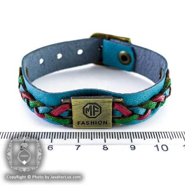 دستبند چرم مدل فشن _ کد : 200136