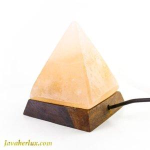 هرم سنگ نمک هالیت صورتی هیمالیایی _ کد : 400030