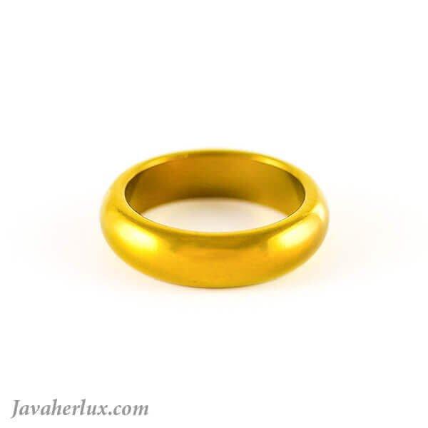 حلقه حدید رینگی ساده مدل آوینو _ کد : 400043