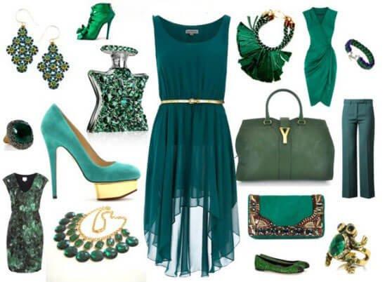 ست کردن لباس با جواهرات
