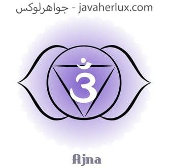 چاکرا ششم - چاکرا آجنا - چاکرای پیشانی – چاکرا چشم سوم – آجنا دید بیرونی و درونی Ajna Chakra Stone – Guru Chakra Stone – Third-Eye Chakra Stone