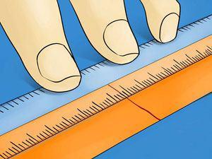 تعیین سایز انگشتر با خط کش - جواهر لوکس