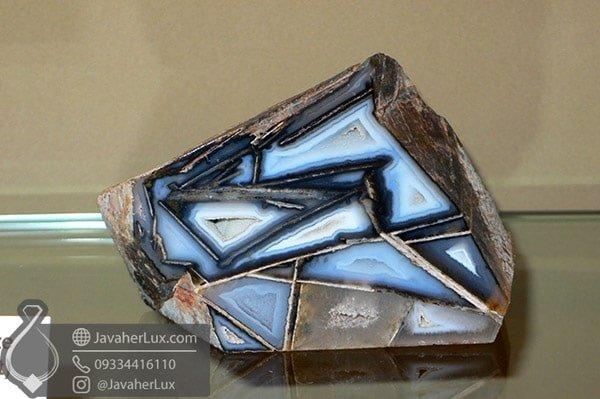 عقیق چند وجهی Polyhedroid Agate
