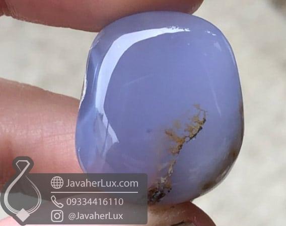 عقیق آبی النسبرگ Ellensburg Blue Agate