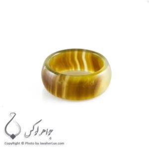 حلقه ساده عقیق سلیمانی مدل آطا _ کد : 400080