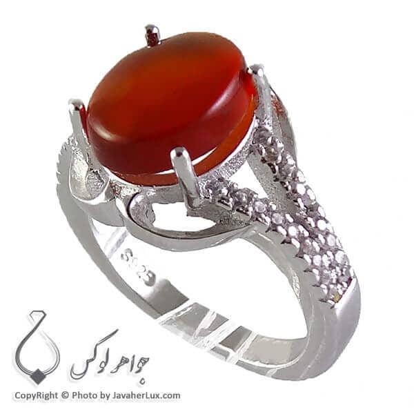 انگشتر عقیق یمنی زنانه _ کد : 100170