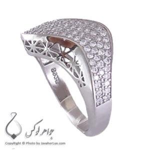 انگشتر نقره زنانه میکرو مدل ویانا _ کد : 100187