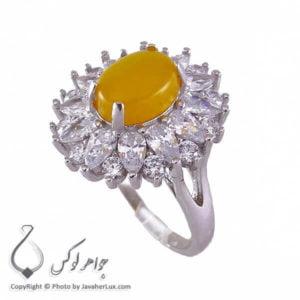 انگشتر زنانه شرف الشمس مدل رومیسا _ کد : 100192