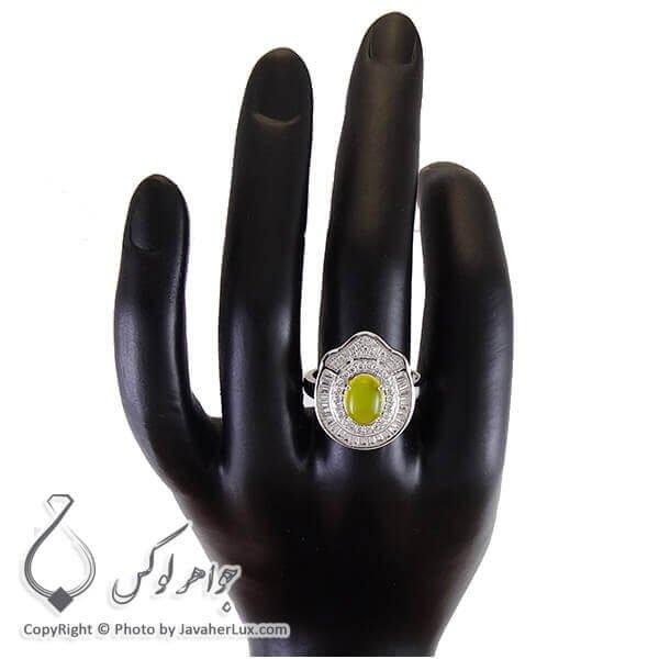 انگشتر شرف شمس نقره زنانه درا _ کد : 100200