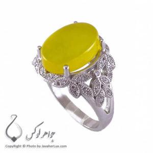 انگشتر شرف الشمس نقره زنانه مدل شانا _ کد : 100203
