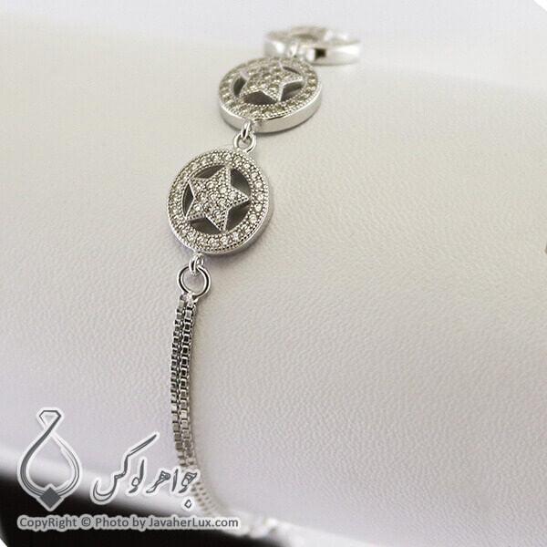 دستبند نقره زنانه _ کد : 100209