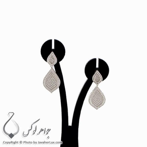 گوشواره نقره زنانه مدل ریجینا _ کد : 100257