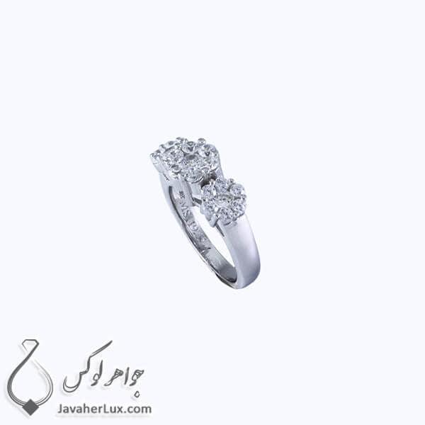 انگشتر نقره زنانه مدل افرینا _ کد : 100344