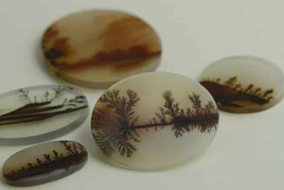 انواع سنگ عقیق منظره