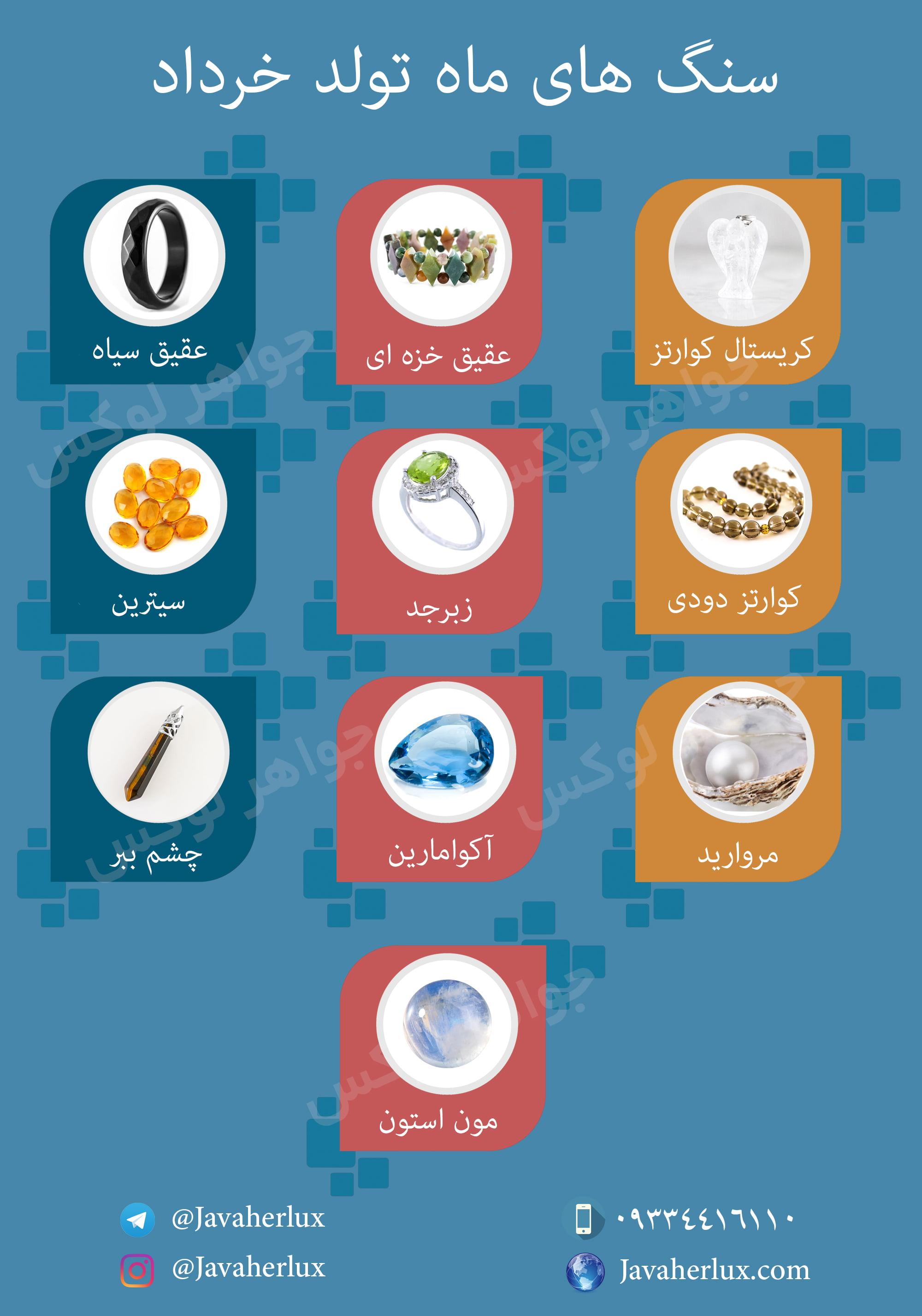 نام حیوان ماه خرداد
