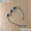 دستبند نقره زنانه مدل پشن _ کد : 100443