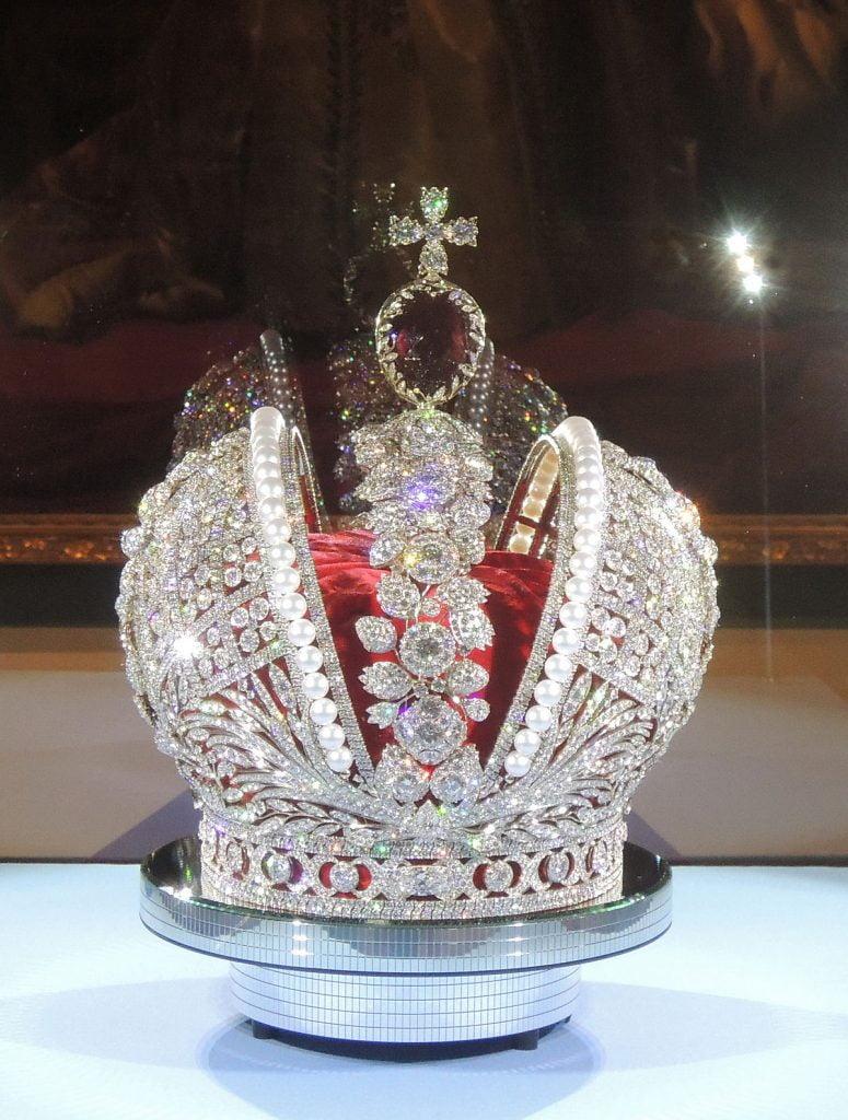 جواهرات سلطنتی : یاقوت سرخ کاترین کبیر