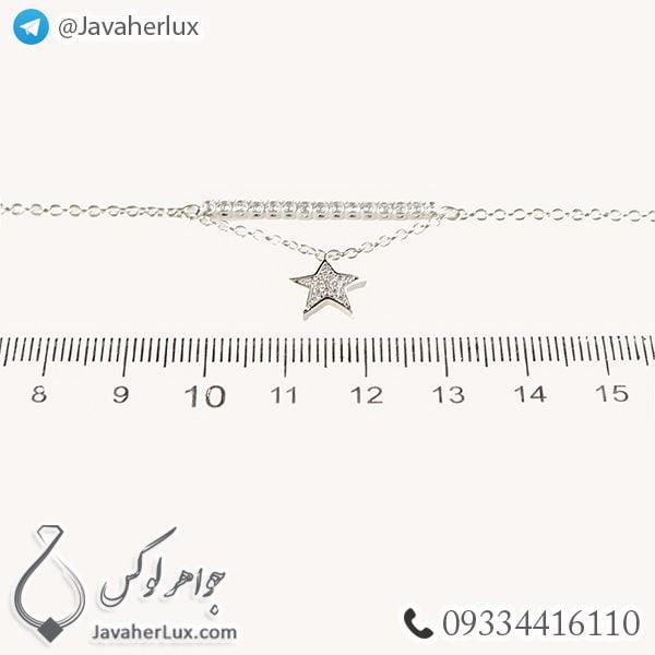 دستبند استیل زنانه _ کد : 200284