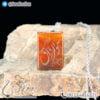 گردنبند سنگ عقیق قرمز حکاکی دعای هو الرزاق _ کد : 400324