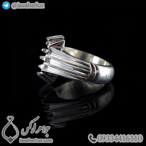 رکاب انگشتر نقره دست ساز _ کد : 100456