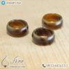 حلقه سنگ عقیق سلیمانی چوبینه _ کد : 400361