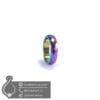 حلقه سنگ حدید هفت رنگ _ کد : 400403