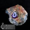 گردنبند سنگ کوارتز رنگی مدل زاب _ کد : 400410