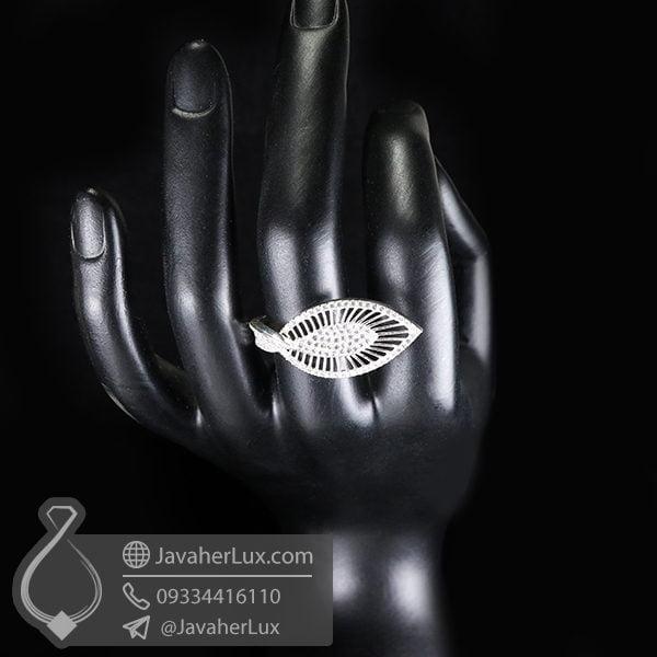 انگشتر نقره زنانه فانتزی _ کد : 100528