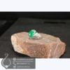 انگشتر نقره عقیق سبز _ کد : 100553