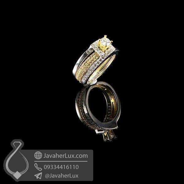 انگشتر نقره زنانه مدل زوپین _ کد : 100556