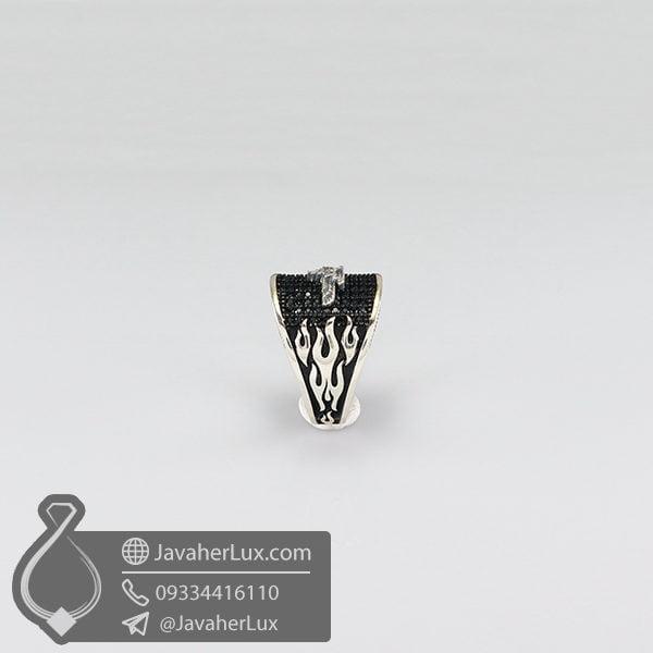 انگشتر نقره فروهر _ کد : 100572