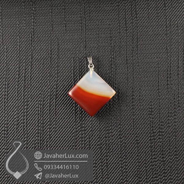 گردنبند سنگ عقیق زنانه _ کد : 400502