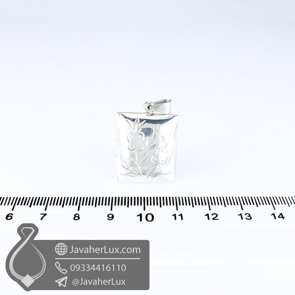 گردنبند نقره قاب عکسی _ کد : 100600