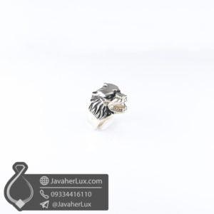 انگشتر نقره گرگ _ کد : 100591