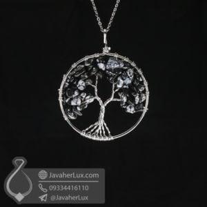 گردنبند ابسیدیان درخت زندگی بزرگ _ کد : 400539