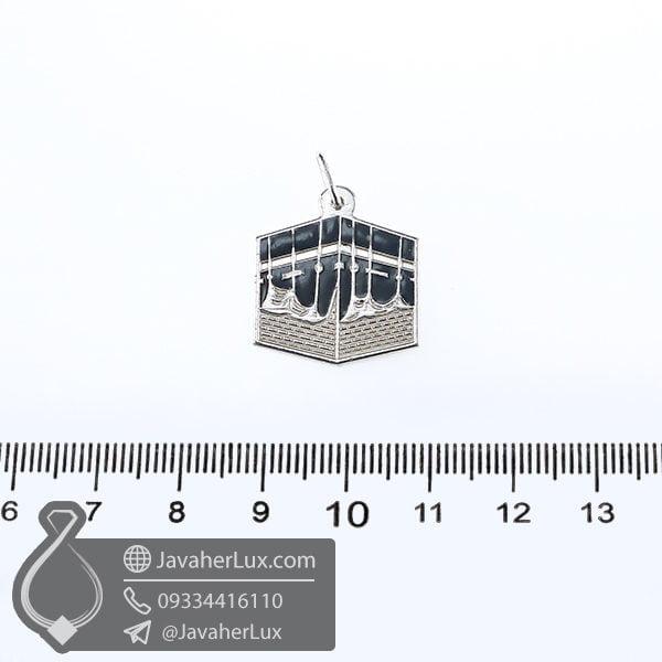 گردنبند نقره کعبه _ کد : 100623