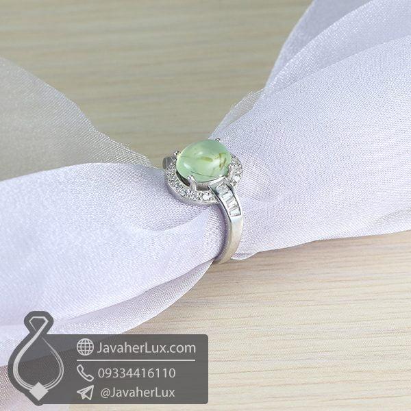 انگشتر نقره زنانه پرهنیت _ کد : 100647