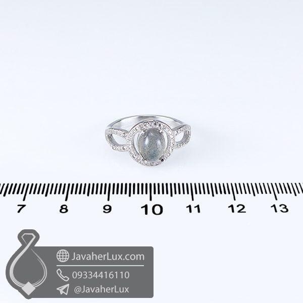 انگشتر زنانه لابرادوریت _ کد ک 100649