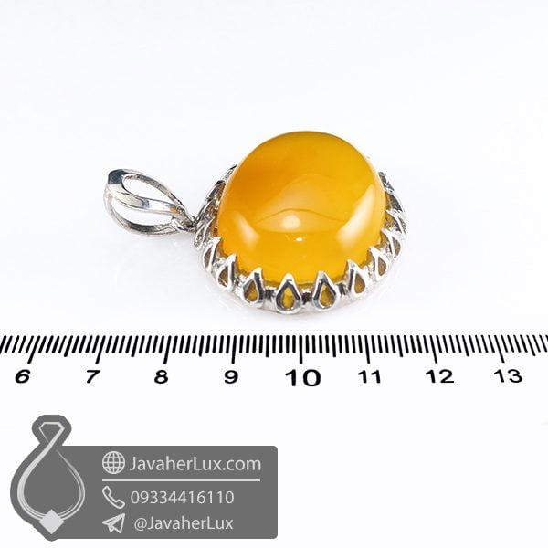 گردنبند نقره مردانه شرف الشمس _ کد : 100657